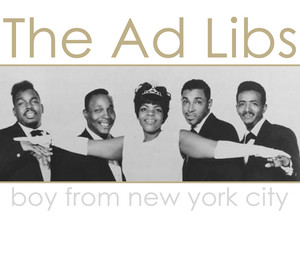 Boy from New York City - The Ad Libs, The Manhattan Transfer; vocal arrangement; choir satb, a cappella; bladmuziek; sheet music; koorarrangement; koor; lyrics; chords