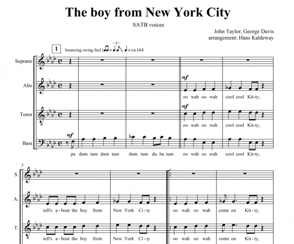The Boy from New York City - page 1