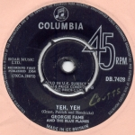 Yeh-yeh-georgie-fame; arrangementen, arrangements, sheet music, bladmuziek, koor, choir, ensemble, band, orchestra, combo