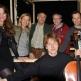 De cast van Ongezien Theater, 2012. V.l.n.r. Minka Zaal, Liesbeth Groenewold, Dick van Veen, Paul Rittel, Stef Agsteribbe, Hans Kaldeway