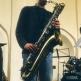 Bartionsax bij een concert van GAMMA, 2002