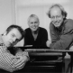 Trio Wies Bouma, v.l.n.r. Hans Kaldeway, Wies Bouma, Wobbe van der Meulen; 1999