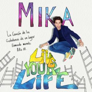 Live your life, Mika, choir arrangement, vocal chart, koor, sheet music, bladmuziek, satb, ttbb, mannenkoor, mens chorus
